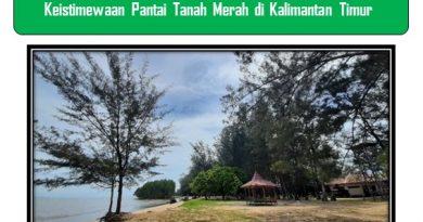 Keistimewaan Pantai Tanah Merah di Kalimantan Timur