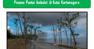 Pesona Pantai Ambalat di Kutai Kartanegara