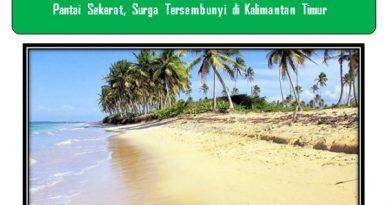 Pantai Sekerat, Surga Tersembunyi di Kalimantan Timur