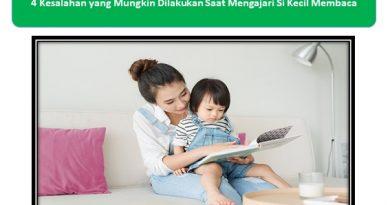 KesalahanMengajari Si Kecil Membaca
